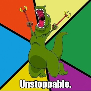 unstoppable-T-Rex