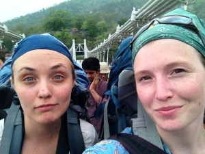 Dani and Tarah arrive in Rishikesh