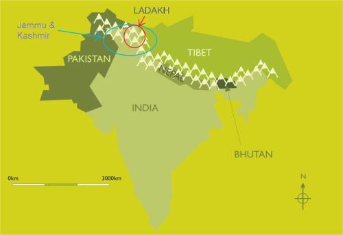 ladakh map