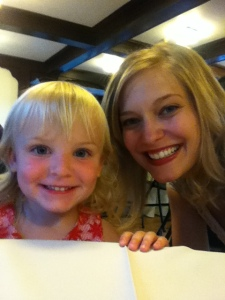 My little second cousin/niece/whatever, Tessa!