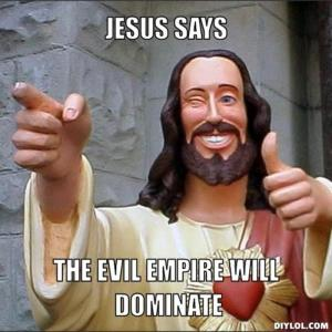 jesus says empire